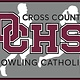 Dowling Catholic Car Decal Cross Country