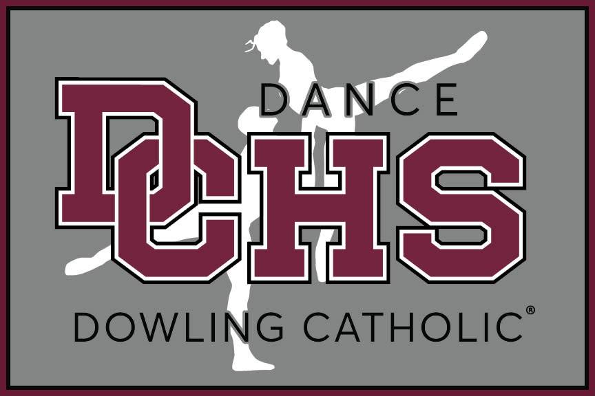 Dowling Catholic Car Decal Dance