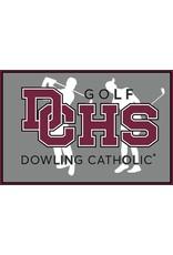 Accessories Dowling Catholic Car Decal Golf