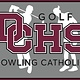 Dowling Catholic Car Decal Golf