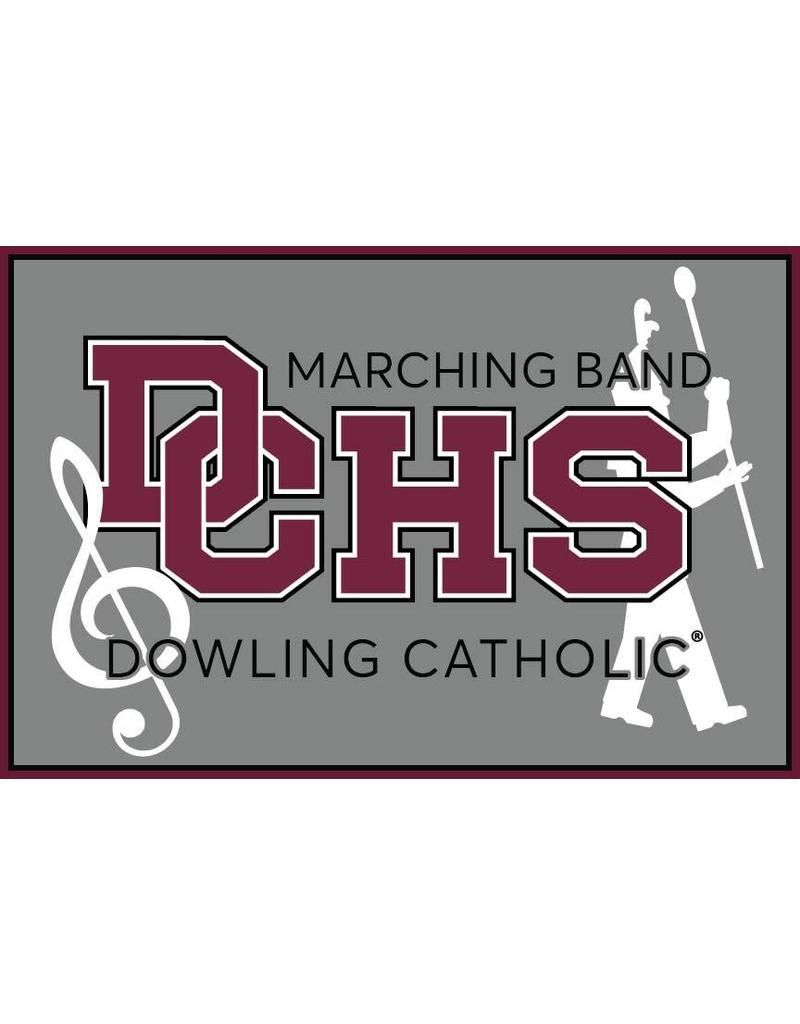 Accessories Dowling Catholic Car Decal Marching Band