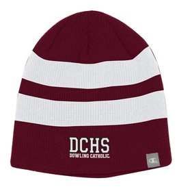Champion 2 Color Unisex Beanie with Stripes