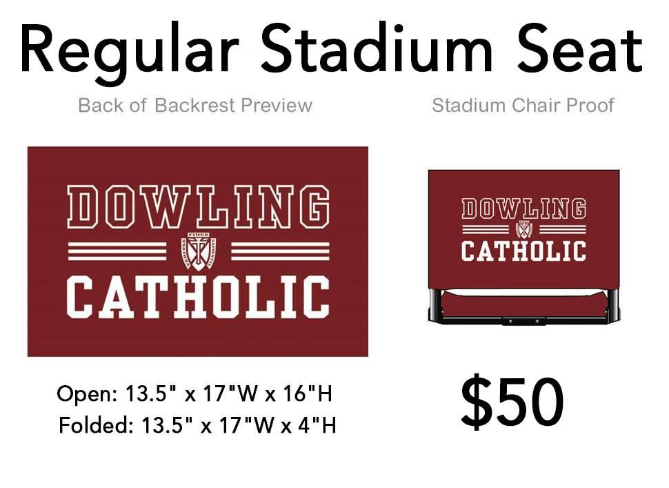 Stadium Seat - WIDE