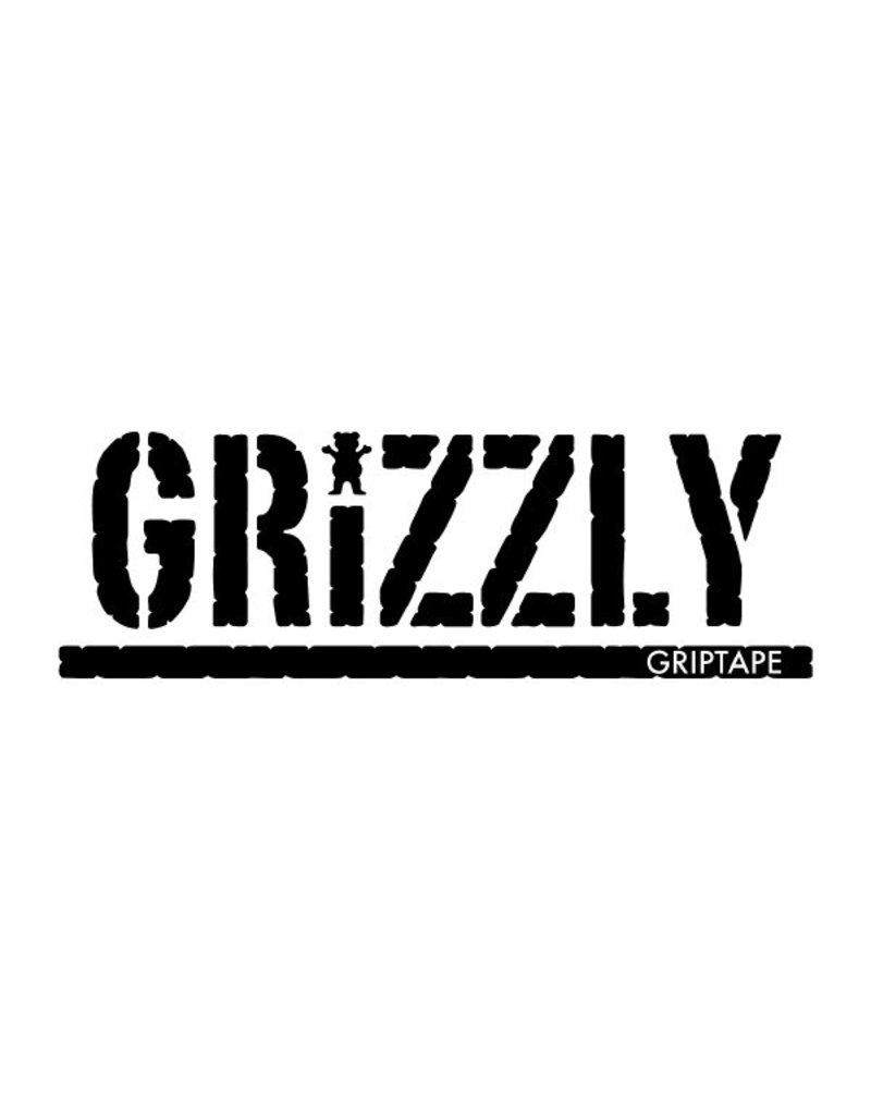 GRIZZLY GRIZZLY GRIPTAPE WITH BEAR CUTOUT