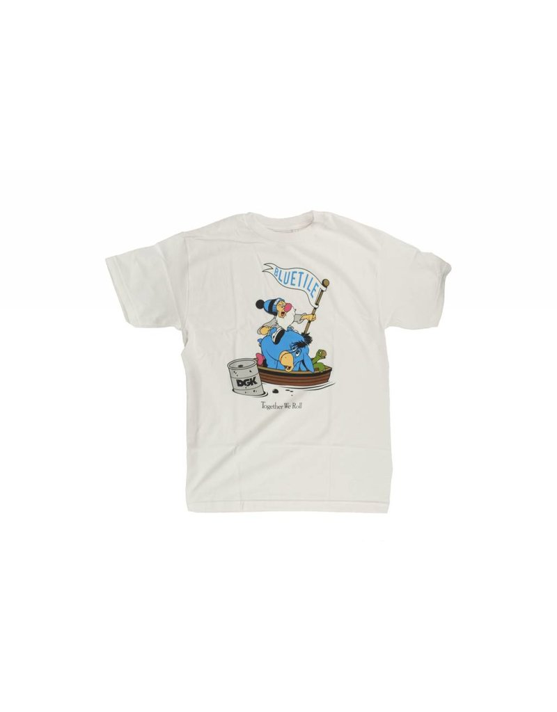 BLUETILE BLUETILE X DGK TOGETHER WE ROLL T-SHIRT