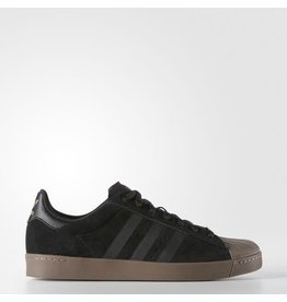 ADIDAS ADIDAS SUPERSTAR VULC ADV BLACK / GOLD / GUM