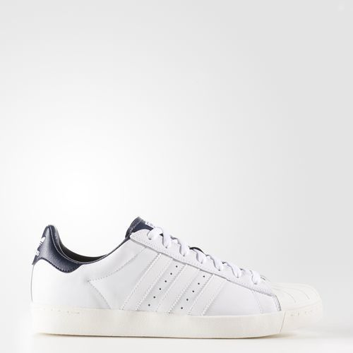 Cheap Adidas Superstar Vulc ADV Shoe (maroon white white) buy at
