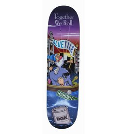 "BLUETILE BLUETILE X DGK ""TOGETHER WE ROLL"" DECK W/ FREE T-SHIRT"