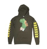 FUCKING AWESOME FUCKING AWESOME NAK MOTHER AFRICA HOODIE - MILITARY GREEN