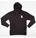 BLUETILE BLUETILE INTERLOCKING BS HOODIE BLACK