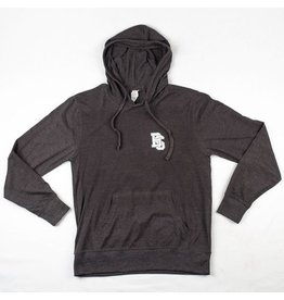BLUETILE BLUETILE INTERLOCKING BS HOODIE DARK GRAY