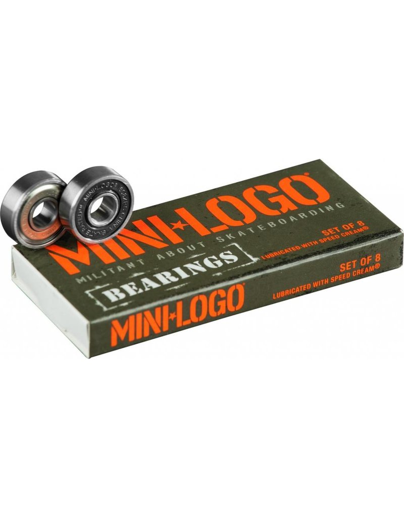 MINI LOGO MINI LOGO BEARINGS 8-COUNT