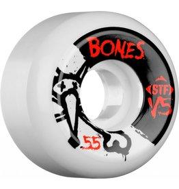 BONES BONES WHEELS STF V5 , WHITE /BLACK