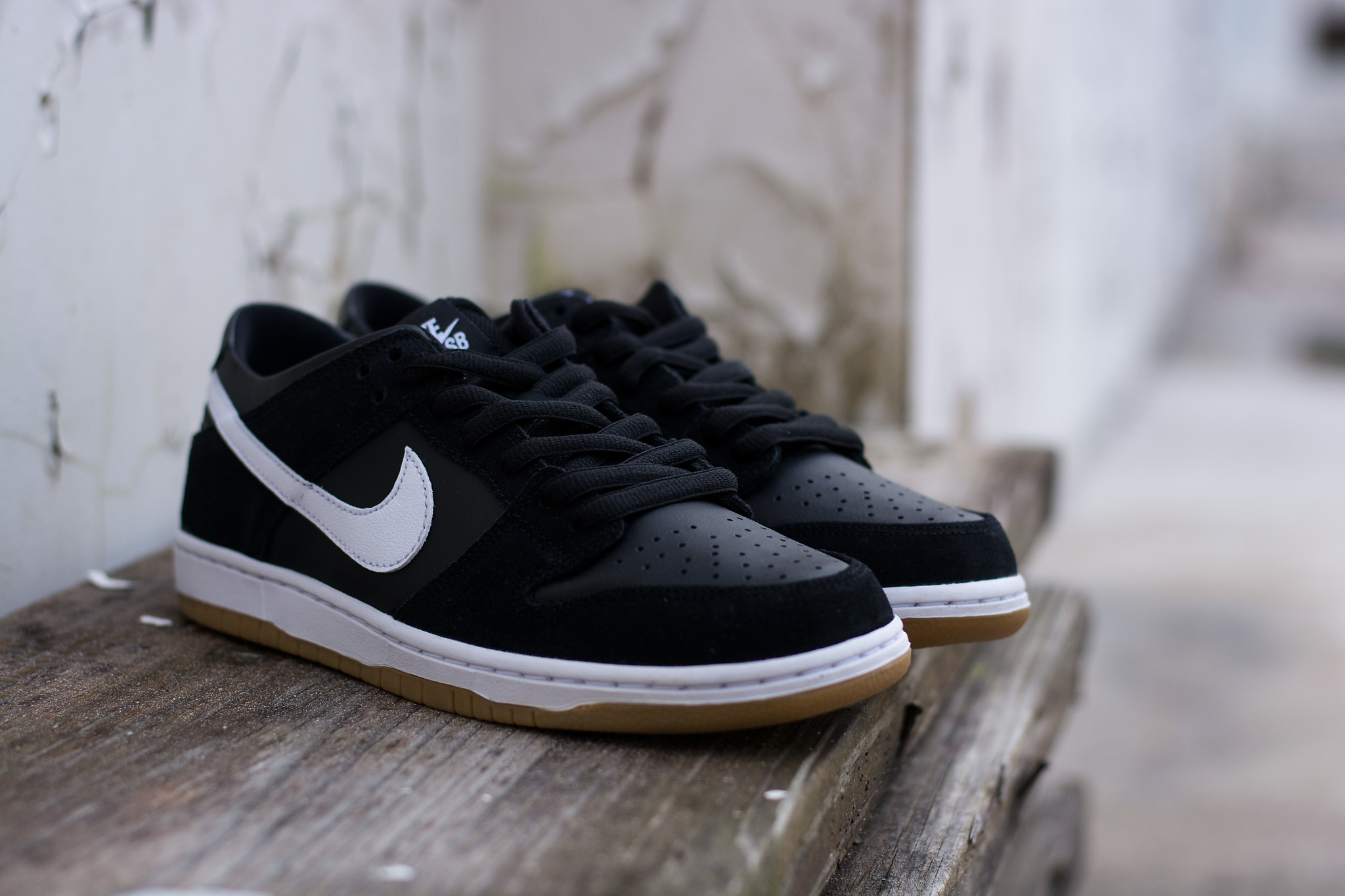huge discount d47a1 9eaf3 ... discount available now bluetile for 89.99 nike sb dunk low pro black  white gum 1e54c ece07