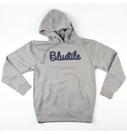 BLUETILE BLUETILE SHOESTRING HOODIE GREY / BLUE