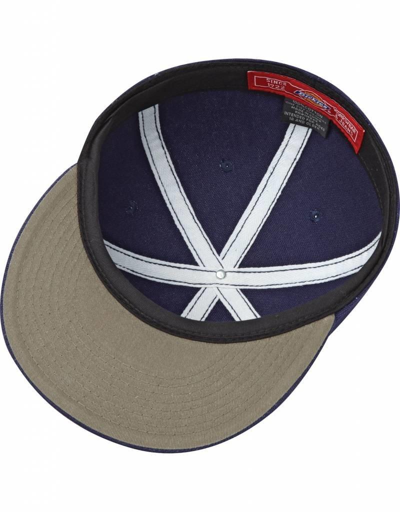 DICKIES DICKIES '67 VINTAGE FLAT BILL CAP (BLUE / WHITE)