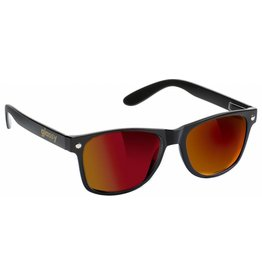 GLASSY GLASSY SUN HATERS LEONARD BLACK / RED MIRROR