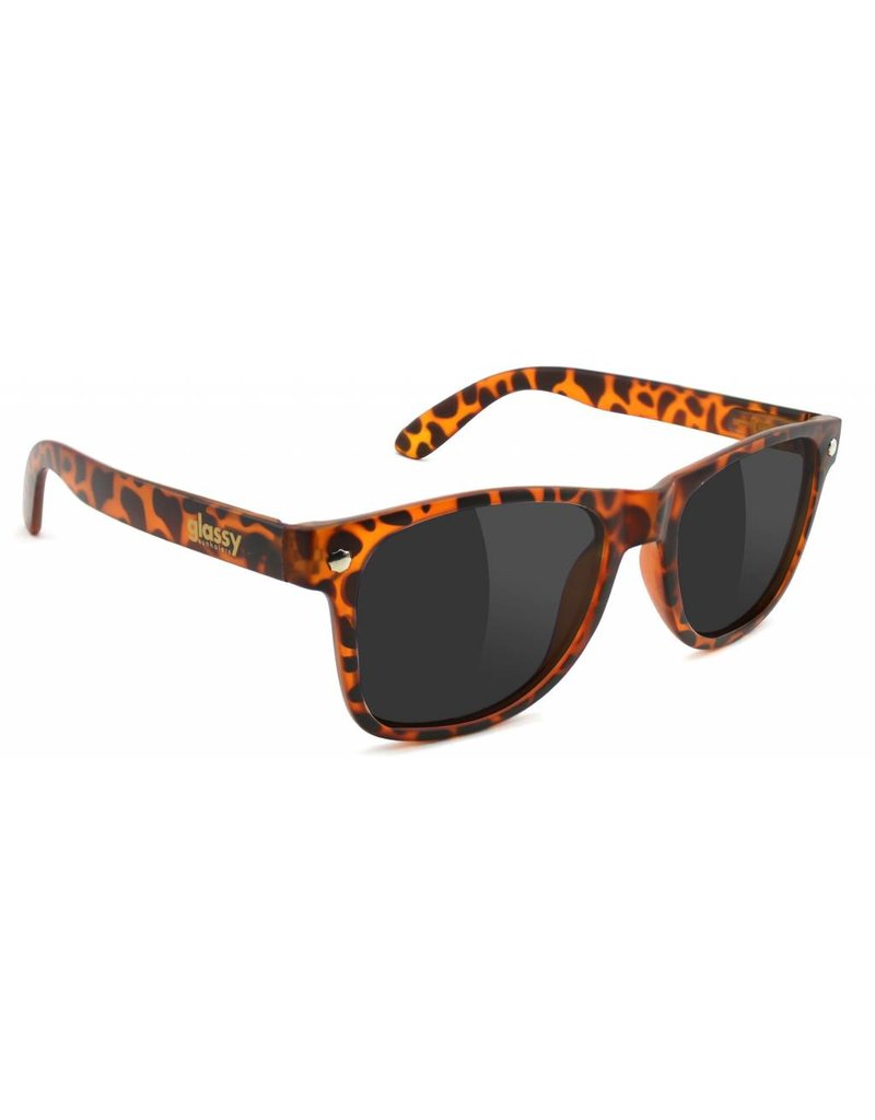GLASSY GLASSY SUNGLASSES LEONARD BROWN TORTOISE