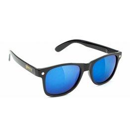 GLASSY GLASSY SUNHATERS LEONARD BLACK / BLUE MIRROR