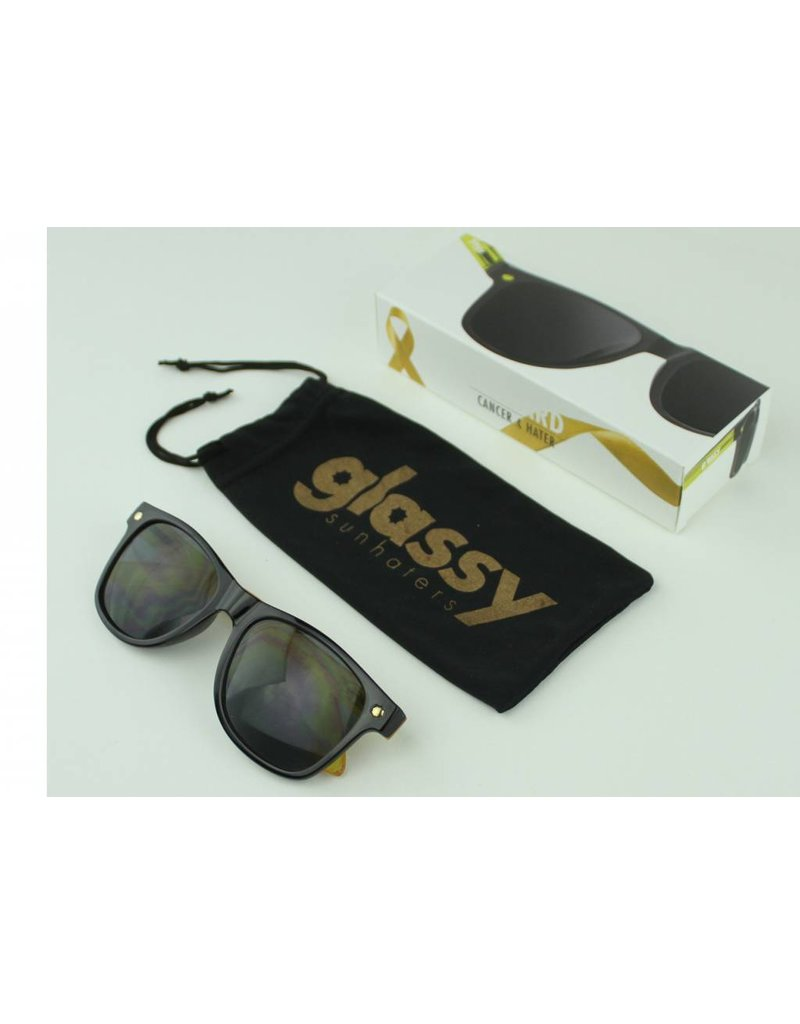 GLASSY GLASSY SUNHATERS LEONARD CANCER HATER BLACK / YELLOW