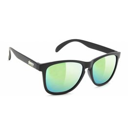 GLASSY GLASSY SUNGLASSES DERIC CANCER HATERS BLACK / GOLD