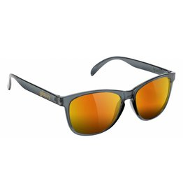 GLASSY GLASSY SUNHATERS DERIC CLEAR GREY / RED MIRROR