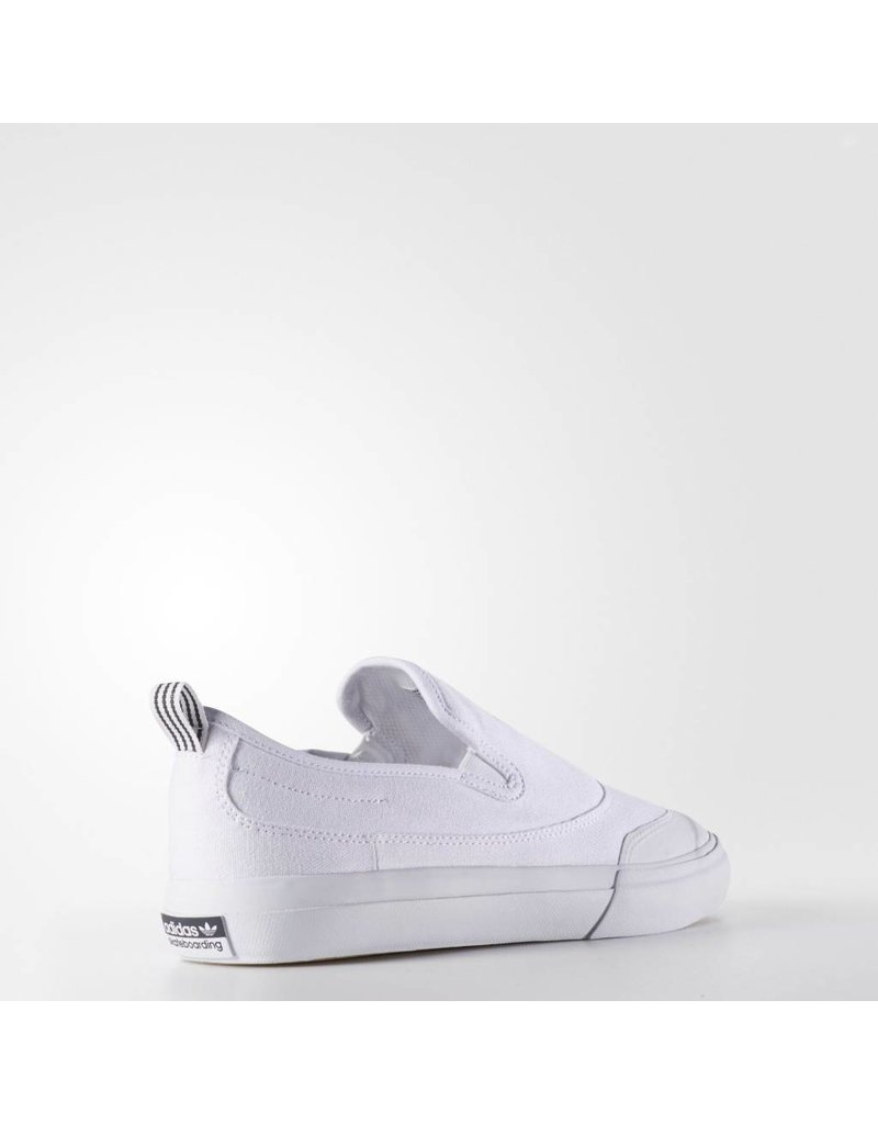 ADIDAS ADIDAS MATCHCOURT SLIP-ON WHITE / WHITE