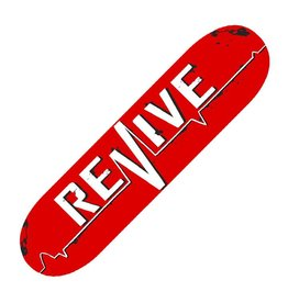 REVIVE REVIVE SKATEBOARDS RED LIFELINE