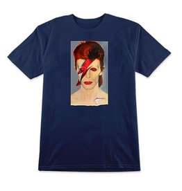 PRIME PRIME JASON LEE BOWIE T-SHIRT NAVY