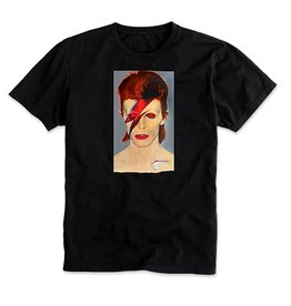 PRIME PRIME JASON LEE BOWIE T-SHIRT - BLACK