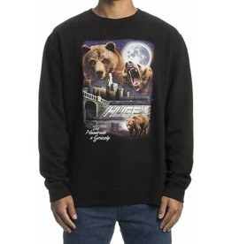 THE HUNDREDS X GRIZZLY URBAN CAMP CREWNECK