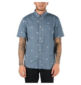 VANS VANS HOUSER SS BUTTONDOWN SHIRT DRESSED BLUE WASHED UP
