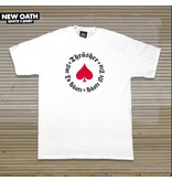 THRASHER THRASHER MAGAZINE NEW OATH T-SHIRT WHITE