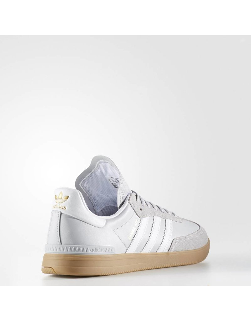 ADIDAS ADIDAS SAMBA ADV LIGHT GREY / WHITE / GUM