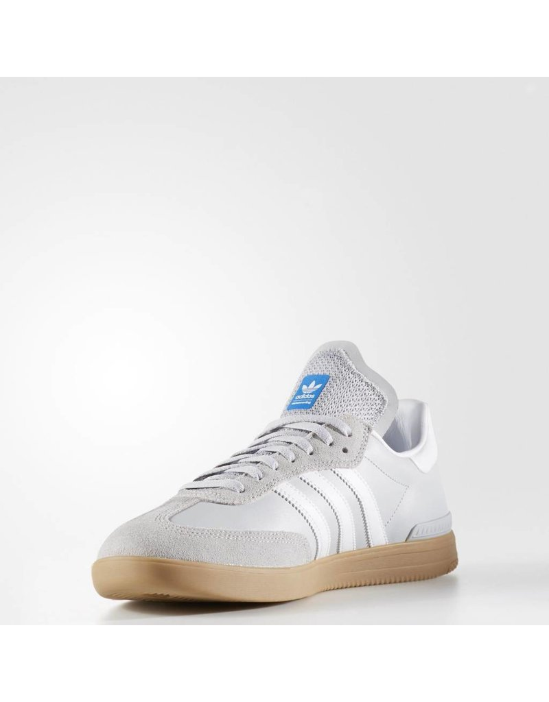 ADIDAS ADIDAS SAMBA ADV LIGHT GREY WHITE GUM