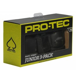 PROTEC JUNIOR 3 PACK (KNEE/ELBOW/WRIST) YS