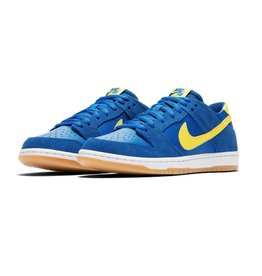 "NIKE SB DUNK LOW ""BOCA JR"" VARSITY ROYAL / LIGHTENING / WHITE"