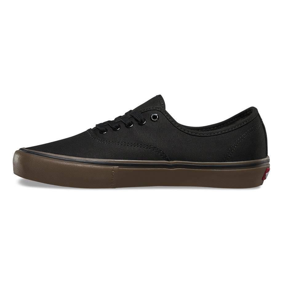 vans gum black
