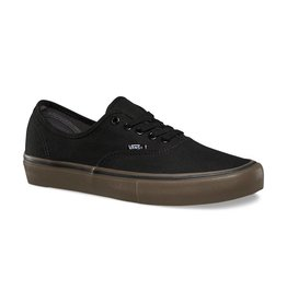 VANS VANS AUTHENTIC PRO (CANVAS) BLACK / GUM