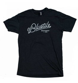 BLUETILE SCRIPT BLUETILE T-SHIRT - CHARCOAL / WHITE