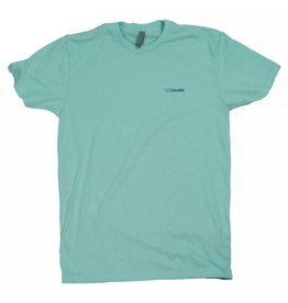 BLUETILE BLUETILE NO POCKET T-SHIRT MINT / BLUE