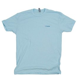 BLUETILE BLUETILE NO POCKET T-SHIRT BLUE / BLUE