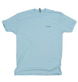 BLUETILE BLUETILE NO POCKET T-SHIRT BLUE / BLUE