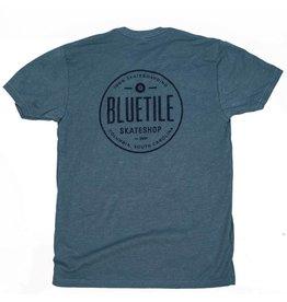 BLUETILE BLUETILE 100% SKATEBOARDING - BLUE / BLUE