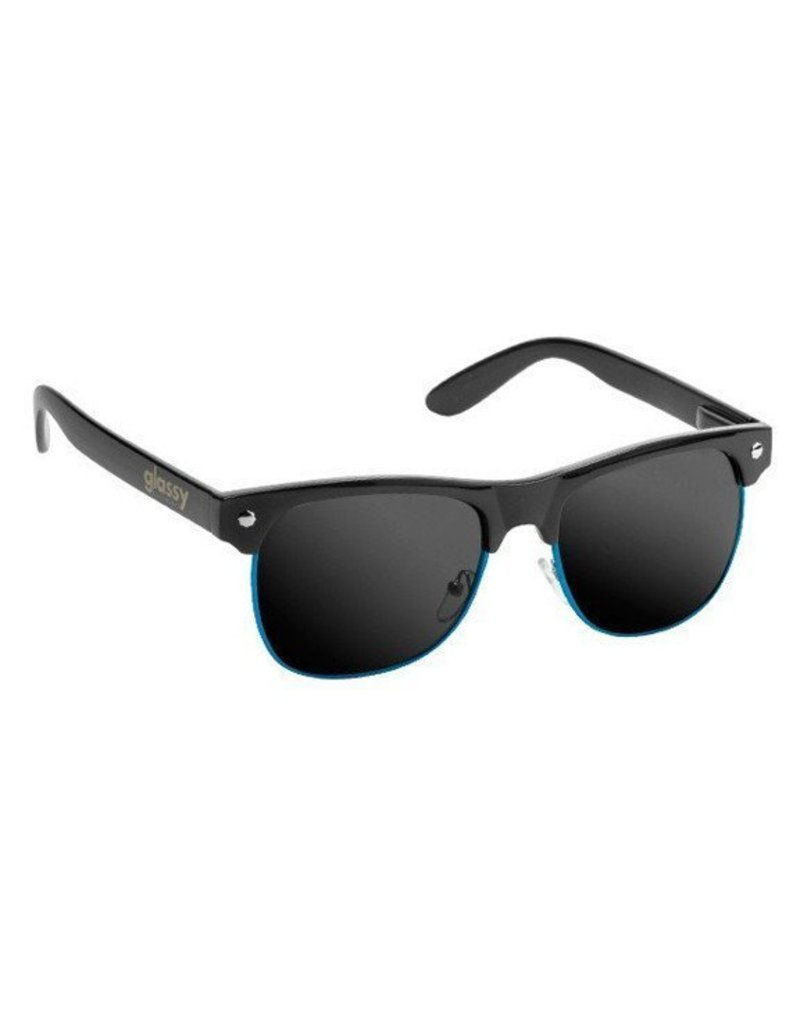 GLASSY GLASSY SUNHATERS SHREDDER BLACK / BLUE TRIM