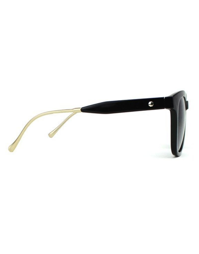 GLASSY GLASSY SUNHATERS ROYAL BLACK / GOLD