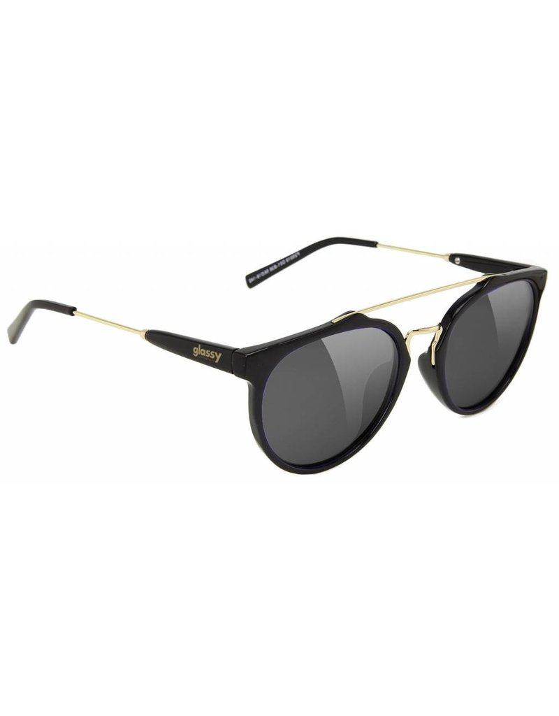 GLASSY GLASSY SUNHATERS CHUCK BLACK / GOLD