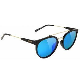 GLASSY GLASSY SUNHATERS CHUCK BLACK / BLUE MIRROR