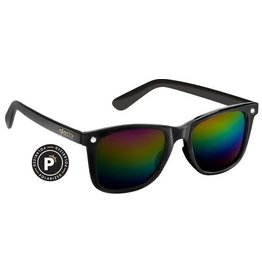 GLASSY GLASSY SUNHATERS MIKE MO BLACK / COLOR MIRROR
