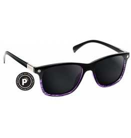 GLASSY GLASSY SUNHATERS BIEBEL POLARIZED BLACK / PURPLE